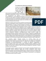 Economía en Europa Antes y Después de La Revolución Industrial