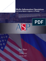 Russian Social Media Information Operations