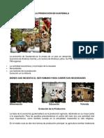 La Producción en Guatemala