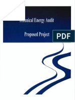 Technical Energy Audit - Project 8-29-13