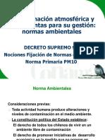 DS 93 Norma Primaria PM10
