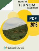 Kecamatan Teunom Dalam Angka 2016