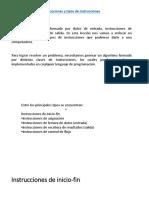 Instrucciones en Algoritmos y Programas (1)