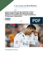 Deroute Real en Liga