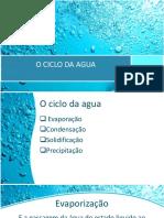 O CICLO DA AGUA (4)
