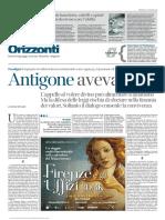 LaLettura 01-11-15 Antigone Aveva Torto