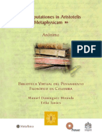 Anónimo_Disputationes in Aristotelis Metaphysicam