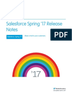Salesforce Spring17 Release Notes