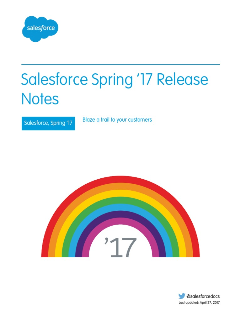 Salesforce Spring17 Release Notes | Salesforce Com | Ios