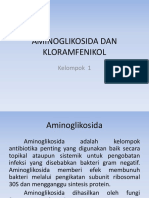 Aminoglikosida Dan Kloramfenikol