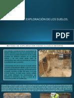 Métodos de Exploración de suelos