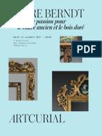 PIERRE BERNDT:Une vie de passion pour le cadre ancien et le bois doré
