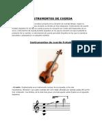 Instrumentación Musical (Tesituras, Timbres y Demas)