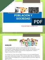 Diapositivas de Sociedad y La Poblacion