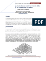 Analysis and Design of a Continuous Reinforced Concrete Raker Beam for Stad.pdf