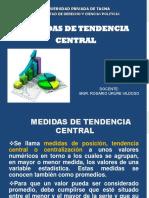 Medidas de Tendencia Central 3