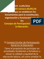 CEPS Acuerdo 02-05-16 (Lineamientos)