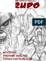 Krudo i - Bocetos, Ilustraciones, Visualizaciones