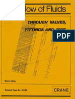 Flow of Fluids - Through Valve, Fittings and Pipes