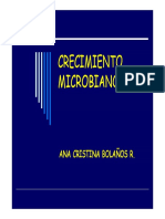 Crecimiento de Microorganismos