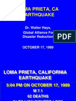 Diapositivas Ingles Loma Prieto 1989