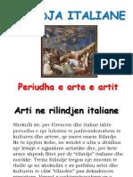 Projekt Vizatim Rilindja Italiane Klasa VIII