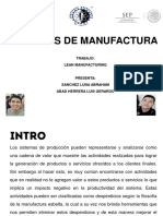 Lean Manufacturing y Six Sigma