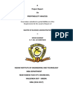 Profitabulity Analysis.pdf Introduction