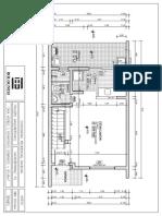 Planta 3 dormitórios sobrado (térreo) - 83,45m²