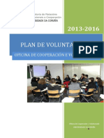Plan de Voluntariado de La Ocv 2013-2016f