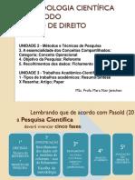 PPT 5 - Fichamento - Resumo