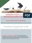Introduccion a La Tecnologia Educativa David