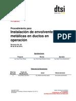 Instalacion de Envolventes Metalicas