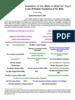 Comparing Bible Translations