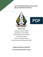 Laporan Praktikum Parasitologi Pembuatan Apusan Tebal Dan Tipis Pada Pemeriksaan Malaria