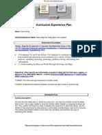 cd 12 curriculum experience plan nalle-maja