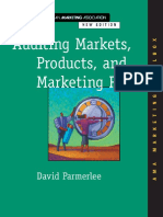 (AMA Marketing Toolbox) David Parmerlee, American Marketing Association-Auditing Markets, Products, And Marketing Plans-McGraw-Hill Professional (2000)