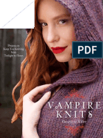 Vampire Knits by Genevieve Miller - Tourniquet Scarf Project
