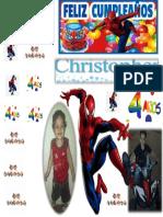 Christopher 4 Años