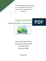 Plano de Negcios Aventura Oeste 20132014