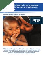 Unicef Apoyando Desarrollo en Primera Infancia.de La Ciencia a Aplicacion a Gran Escala
