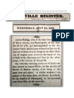 PDF 1829-1832 Knoxville Register newspaper clippings relevant to hanging and Stephen Foster
