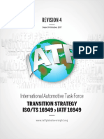 IATF 16949 Transition Strategy and Requirements REV04