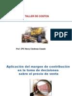 PPT - Margen de Contribucion