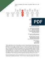 Resitência Quanto à Presença Da Mulher Na Política -Artigo-1