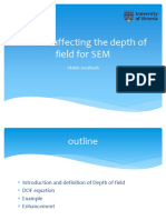 Afshin Factors Affecting the Depth of Field