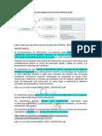 Procesamiento de Informacion en Entornos Web