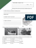 Ficha de Trabalho - Pesca