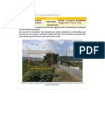 Informe Final de Salida de Campo