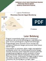 Presentasi Pendahuluan Pemetaan Bomberay